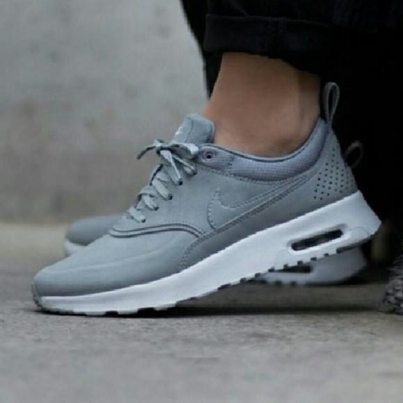 Nike Shoes | Air Max Thea Premium 105 Grey Sail | Poshmark